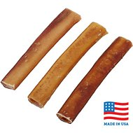 "Bones & Chews Made in USA Jumbo Bully Stick 6"" Dog Treats, 3 count"