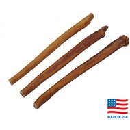 "USA Bones & Chews Jumbo Bully Stick 12"" Dog Treats, 3 count"