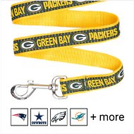 Pets First NFL Dog Leash, Green Bay Packers, Large