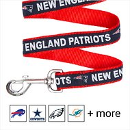 Pets First NFL Dog Leash, New England Patriots, Large