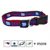 Pets First NFL Dog Collar, New York Giants, Small