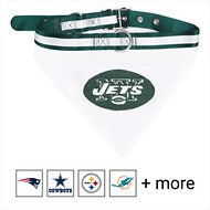 Pets First NFL Bandana Dog & Cat Collar, New York Jets, Small