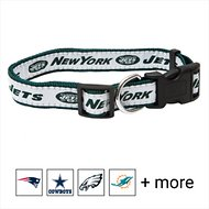 Pets First NFL Dog Collar, New York Jets, Large