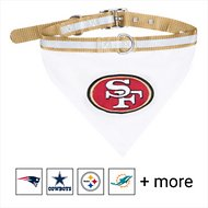 Pets First NFL Bandana Dog & Cat Collar, San Francisco 49ers, Medium