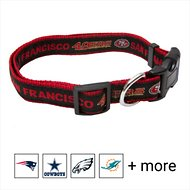 Pets First NFL Dog Collar, San Francisco 49ers, Large