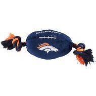 Pets First Denver Broncos Football Dog Toy, 14-inch