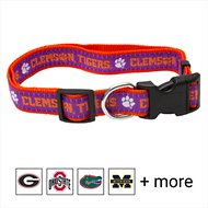 Pets First NCAA Dog Collar, Clemson Tigers, Medium