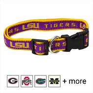 Pets First NCAA Dog Collar, Louisiana State Tigers, Large