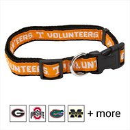 Pets First NCAA Dog Collar, Tennessee Volunteers, Medium