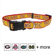 Pets First NCAA Dog Collar, Southern California Trojans, Small