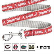 Pets First NCAA Dog Leash, Alabama Crimson Tide, Large