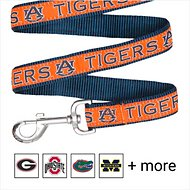 Pets First NCAA Dog Leash, Auburn Tigers, Small