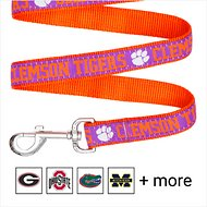 Pets First NCAA Dog Leash, Clemson Tigers, Small