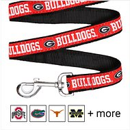 Pets First NCAA Dog Leash, Georgia Bulldogs, Small