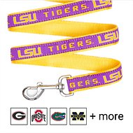 Pets First NCAA Dog Leash, Louisiana State Tigers, Large
