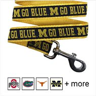 Pets First NCAA Dog Leash, Michigan Wolverines, Medium
