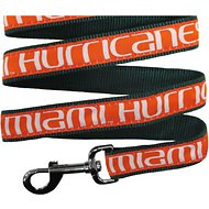 Pets First NCAA Dog Leash, Miami Hurricanes, Medium