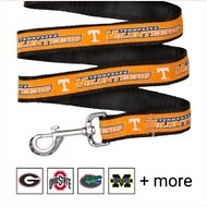 Pets First NCAA Dog Leash, Tennessee Volunteers, Large
