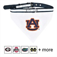 Pets First NCAA Bandana Dog & Cat Collar, Auburn Tigers, Small