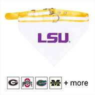 Pets First NCAA Bandana Dog & Cat Collar, Louisiana State Tigers, Medium