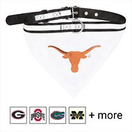 Pets First NCAA Bandana Dog & Cat Collar, Texas Longhorns, Large