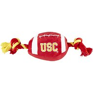 Pets First Southern California Trojans Football Dog Toy, 14-inch