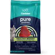 CANIDAE Grain-Free PURE Ocean with Tuna Indoor Formula Limited Ingredient Diet Dry Cat Food, 10-lb bag