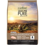CANIDAE Grain-Free PURE Elements with Chicken Limited Ingredient Diet Dry Cat Food, 2.5-lb bag