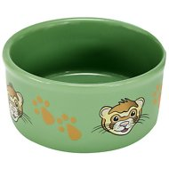 Kaytee Paw Print Small Animal Food & Water Bowl, Color Varies, Ferret