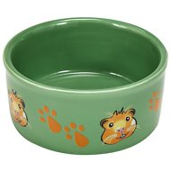 Kaytee Paw Print Small Animal Food & Water Bowl, Color Varies, Guinea Pig