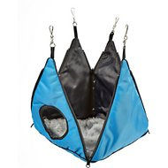 Kaytee Sleep-E-Tent Ferret Convertible Hideout, 11-in