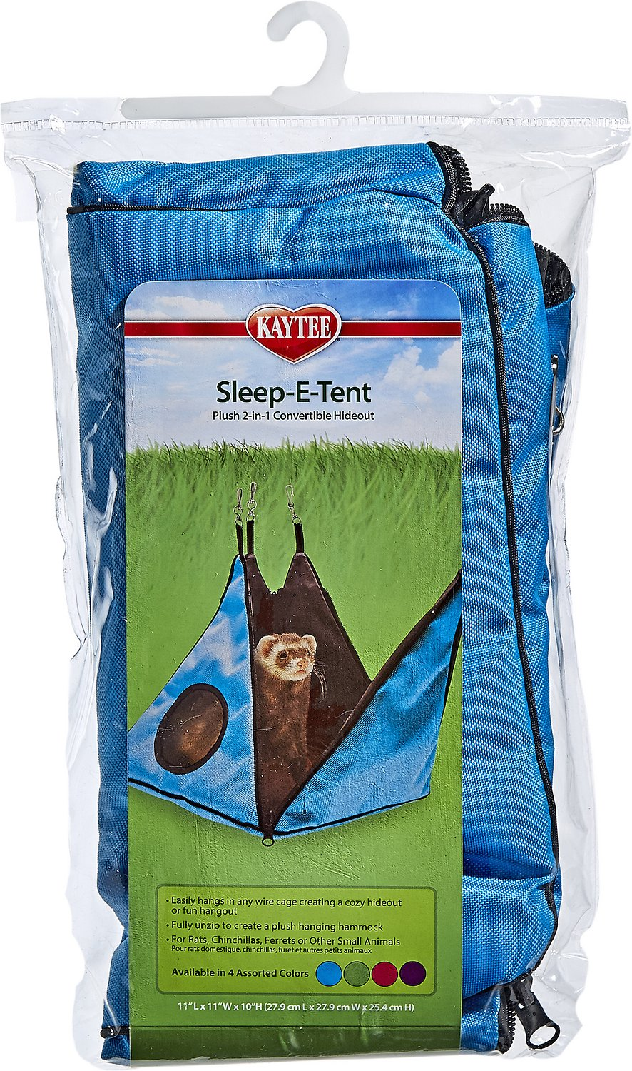 video  sc 1 st  Chewy.com & Kaytee Sleep-E-Tent Ferret Convertible Hideout 11-inch - Chewy.com