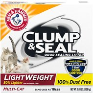 Arm & Hammer Litter Clump & Seal LightWeight Multi-Cat Litter, 9-lb box