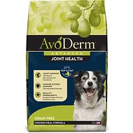AvoDerm Joint Health Chicken Meal Formula Grain-Free Dry Dog Food, 24-lb bag