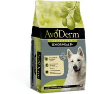 AvoDerm Senior Health Lamb Meal Formula Dry Dog Food, 4-lb bag