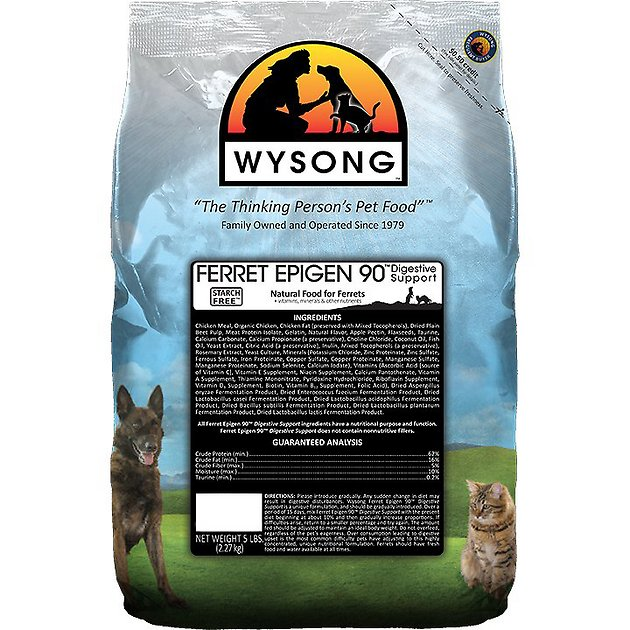 wysong-epigen-90-digestive-support-dry-ferret-food,-5-lb-bag by wysong