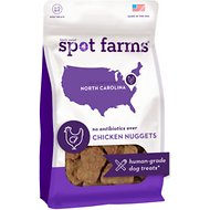 Spot Farms Chicken Nuggets Dog Treats, 12-oz bag
