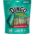 Dingo Dental Sticks for Tartar Control Dog Treats