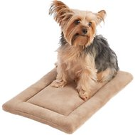 Frisco Micro Terry Pet Bed & Crate Mat, Taupe, 18-inch