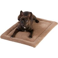Frisco Micro Terry Pet Bed & Crate Mat, Taupe, 24-in