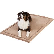 Frisco Micro Terry Pet Bed & Crate Mat, Taupe, 48-in