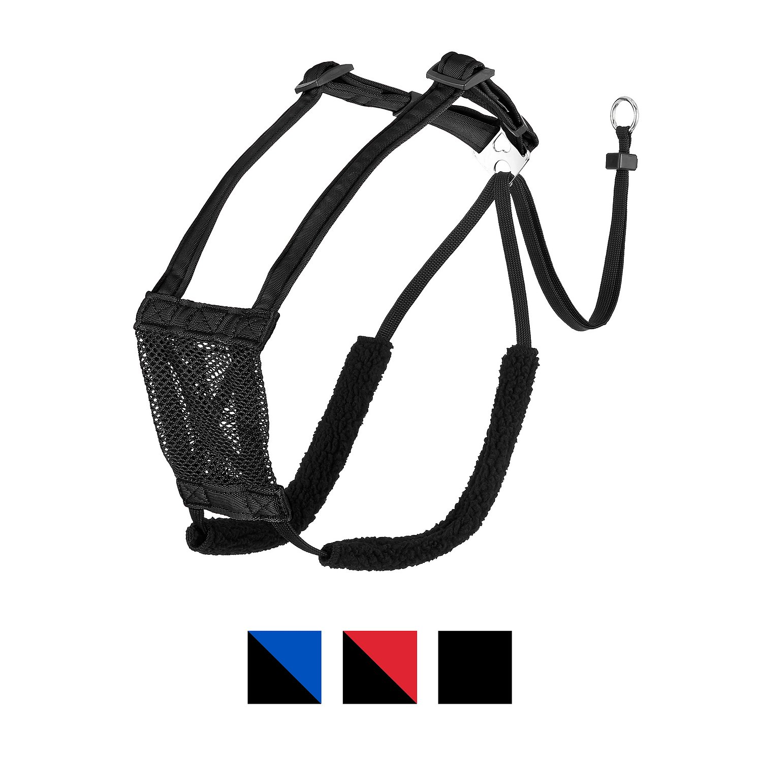 S Non-Pull Mesh Dog Harness, Black, Large/X-Large - Chewy.com