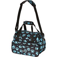 Wahl Paw Print Travel Tote, Turquoise