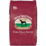 American Natural Premium Grain-Free Pork Meal Recipe Dry Dog Food, 30-lb bag