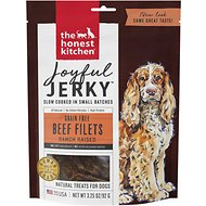 The Honest Kitchen Joyful Jerky Beef Filets Dog Treats, 3.25-oz bag