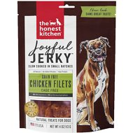 The Honest Kitchen Joyful Jerky Chicken Filets Dog Treats, 4-oz bag
