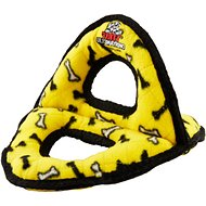 Tuffy's Ultimate 3-Way Ring Dog Toy, Yellow Bones