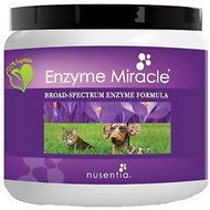 Nusentia Enzyme Miracle Digestive & Metabolic Dog & Cat Supplement, 75g jar