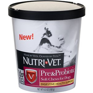 Nutri-Vet Pre & Probiotics Dog Soft Chews