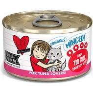 BFF Tuna Too Cool Dinner in Gelee Canned Cat Food, 3-oz, tray of 24
